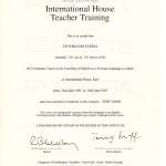 VD Certificate IH001